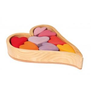 GRIMM´S Bauelemente Lollipop-Herzen