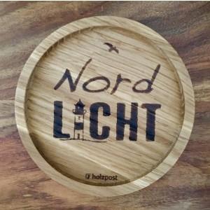 Holzpost® Untersetzer Nordlicht