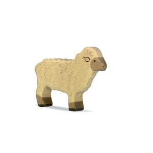 HOLZTIGER Schaf stehend