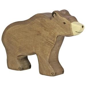 Holztiger Braunbär - Holzspielzeug Profi