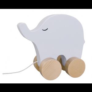JaBaDaBaDo Nachzieh Elefant - Holzspielzeug Profi