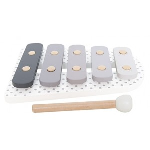 JaBaDaBaDo Holz Xylophon grau - Holzspielzeug Profi