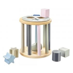 Selecta bellybutton Steckbox Sternchenrolle - Holzspielzeug Profi