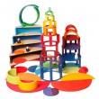GRIMM´S Konzentrische Kreise und Ringe: unendlich kombinierbar  - Holzspielzeug Profi