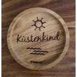 """Holzpost® Untersetzer Bierdeckel """"Küstenkind"""" - Holzspielzeug Profi"""