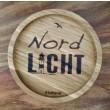 """Holzpost® Untersetzer Bierdeckel """"Nordlicht"""" - Holzspielzeug Profi"""