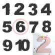 Rasmussons Geburtstagszahl 6 in rosa (Übersicht) - Holzspielzeug Profi