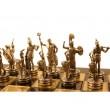 Übergames Schach Poseidon: Figuren - Holzspielzeug Profi