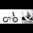 WoodyWheelers Laufrad Boogey weiß- Holzspielzeug Profi