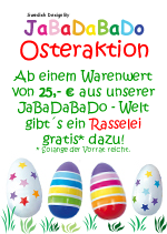 JaBaDaBaDo Oster-Aktion beim Holzspielzeug Profi